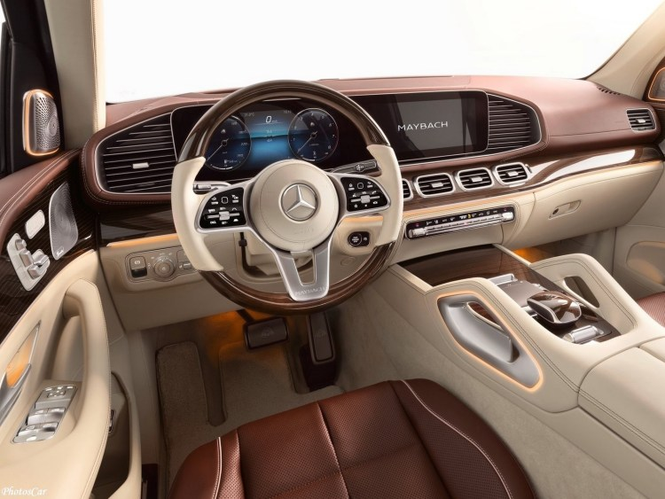 Mercedes Maybach GLS 600 2021
