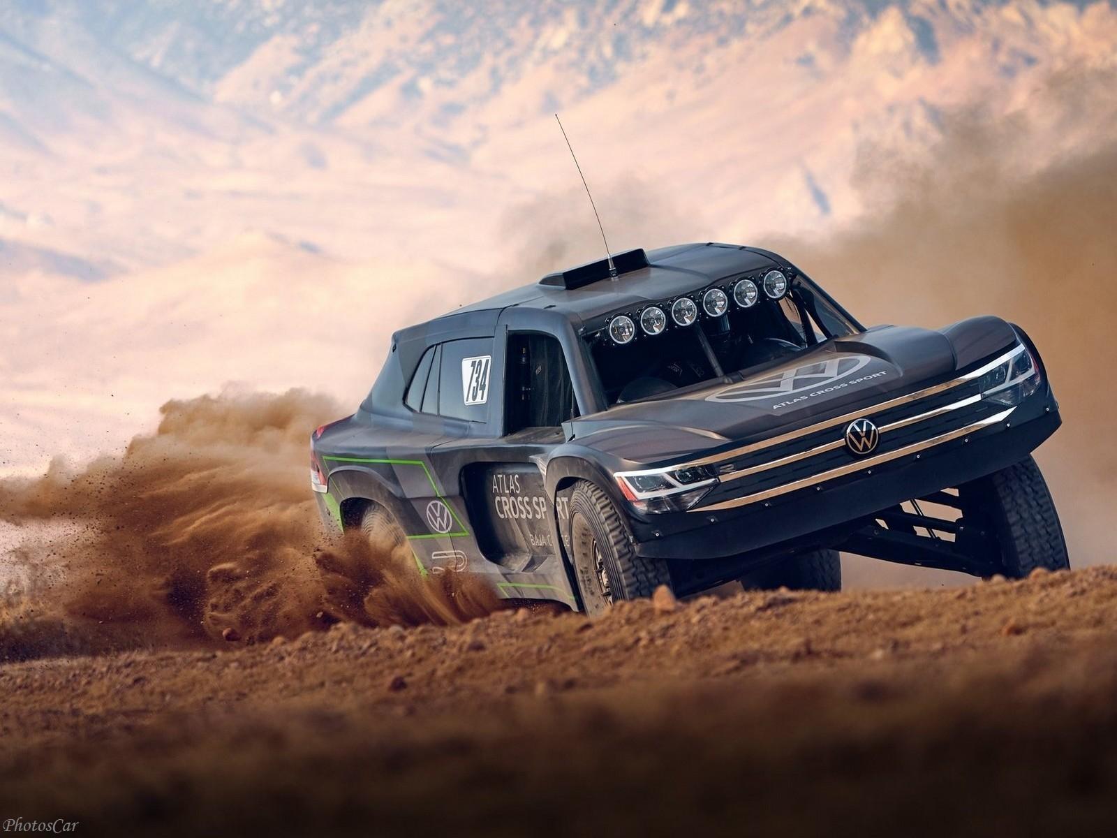 Volkswagen Atlas Cross Sport R Concept 2019