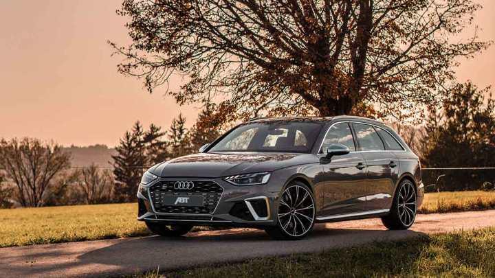 Audi S4 TDI par ABT – Puissance supplémentaire et nouvelles roues