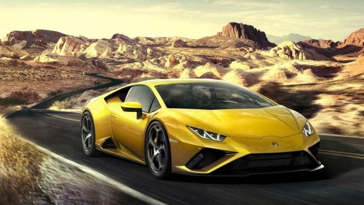 Lamborghini Huracan Evo RWD 2021 – Une puissance viscérale maximale