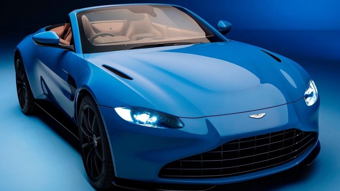 Aston Martin Vantage Roadster 2021 un toit pliant le plus rapide au monde