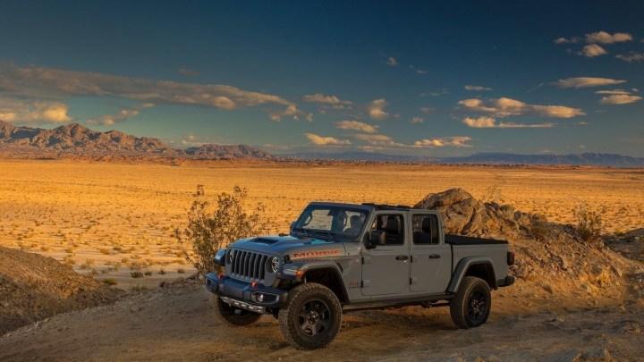 Jeep Gladiator Mojave 2020 axé sur le désert dévoilé à Chicago