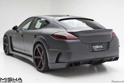 Porsche Panamera Wide Body Kit Misha Designs