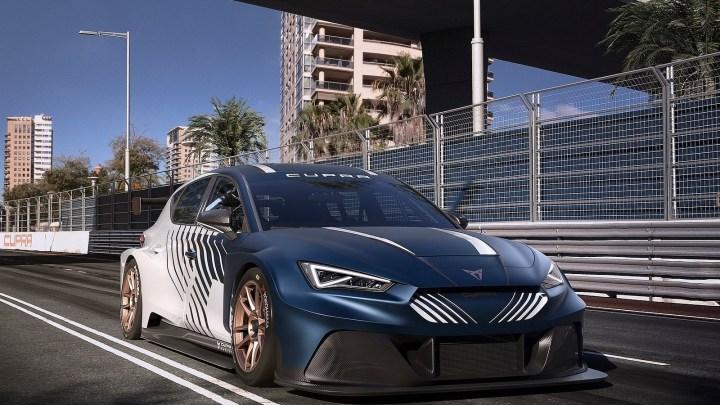 Seat Cupra e-Racer 2021 – Une voiture de course 100% électrique