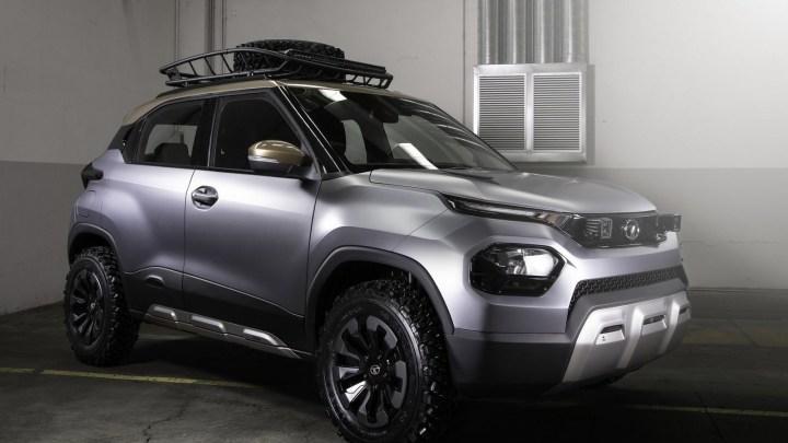 Tata HBX Concept 2020 – IL arrive dans un avatar prêt pour le tout-terrain.