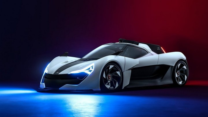 Apex AP-0 Concept 2020 –  Voiture de sport électrique à propulsion arrière