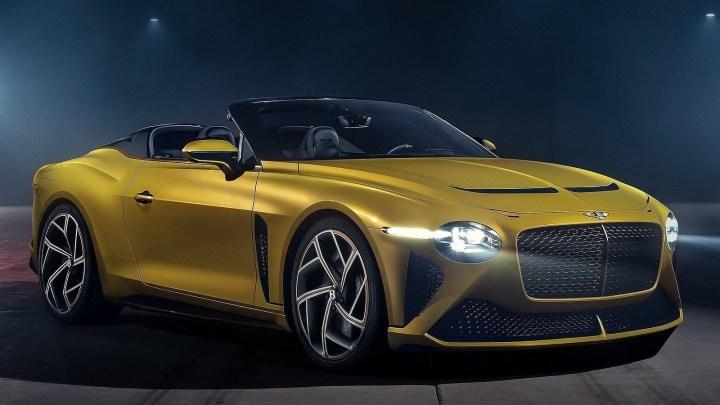 Bentley Mulliner Bacalar 2021 – Un cabriolet de 650 chevaux