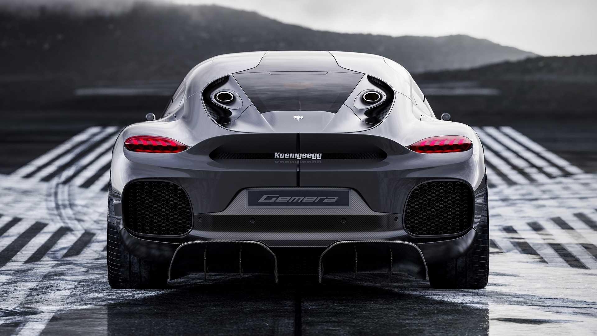 Koenigsegg Gemera 2021