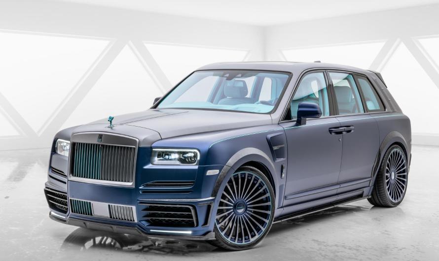 Mansory – Rolls-Royce Cullinan Coastline – Le SUV le plus extravagant