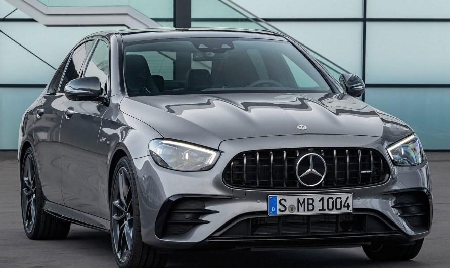 Mercedes-AMG E53 Sedan 2021 – Nouveau visage et nouvelle technologie