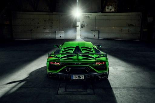 Novitec Lamborghini Aventador SVJ 2019