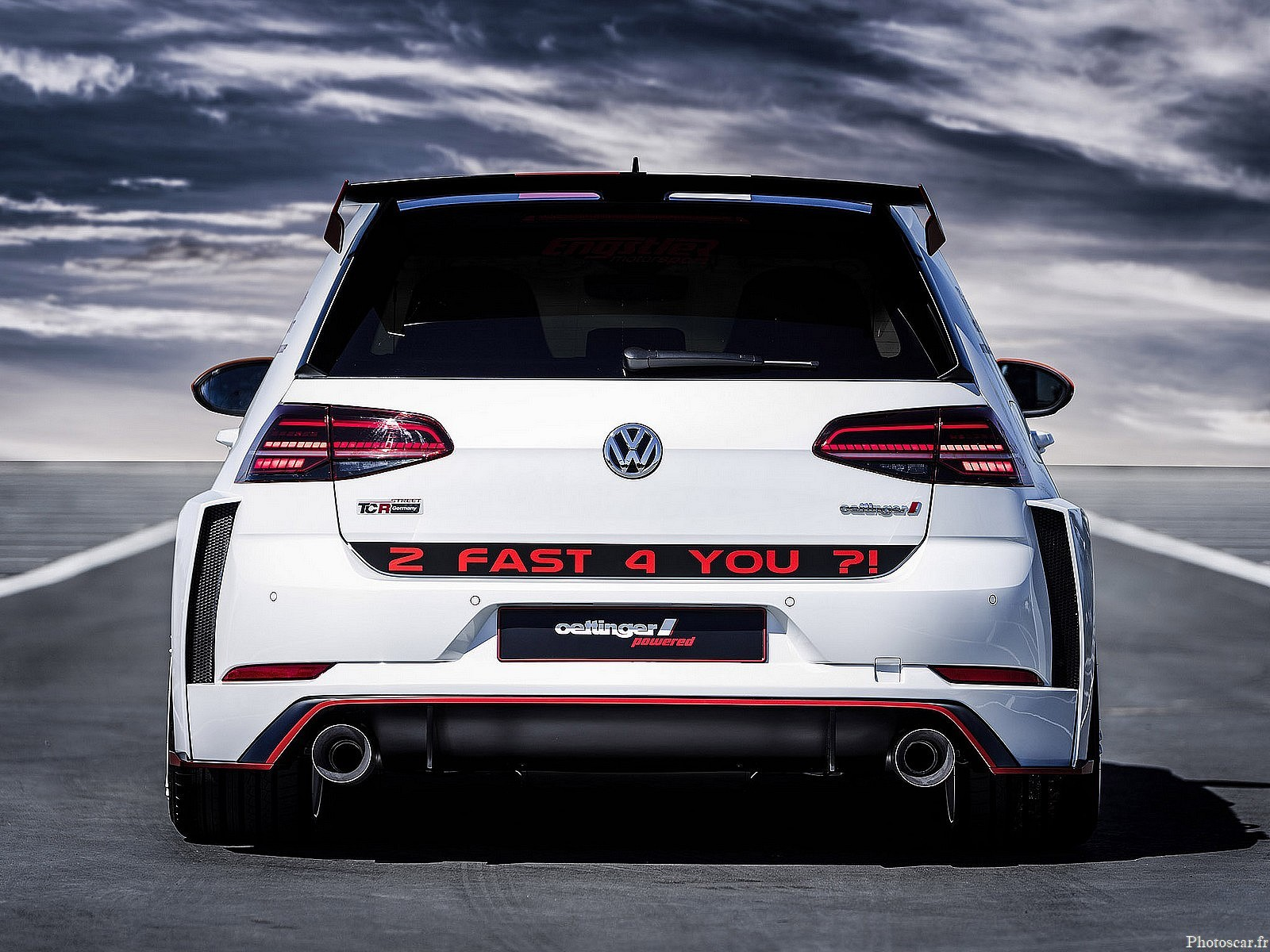 Oettinger Volkswagen Golf GTI TCR Germany Street 2018