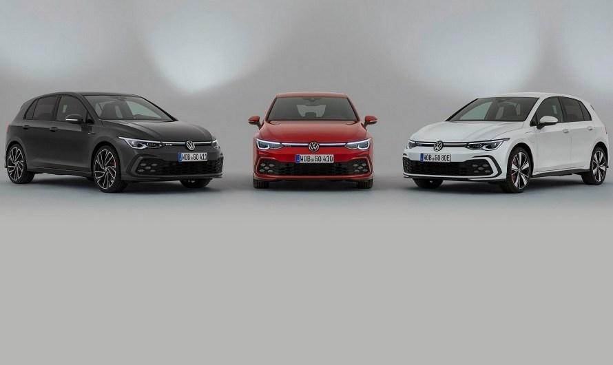 Volkswagen Golf GTI, GTE et GTD 2021- Une huitième génération arrive
