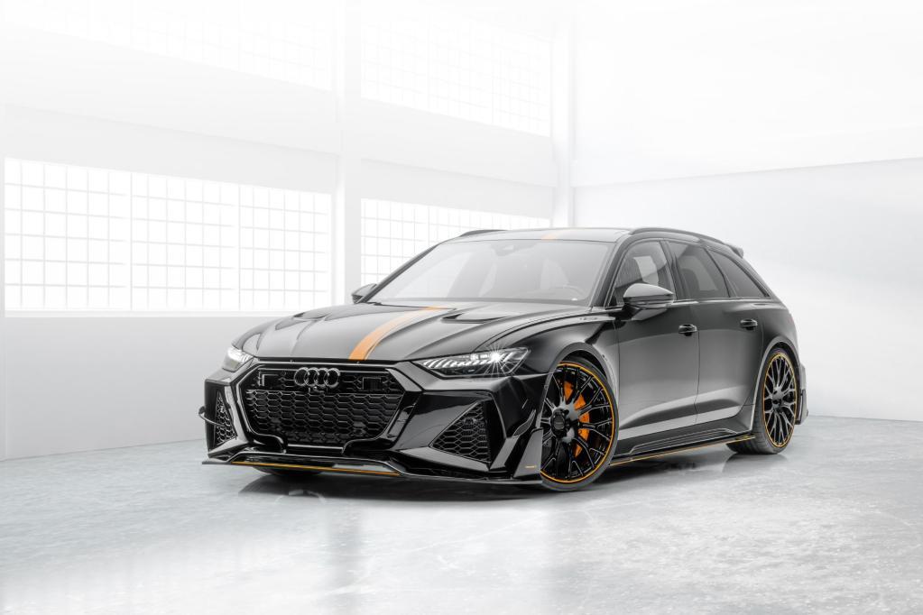 Audi RS6 Avant Mansory 2021 – Une belle augmentation de la puissance
