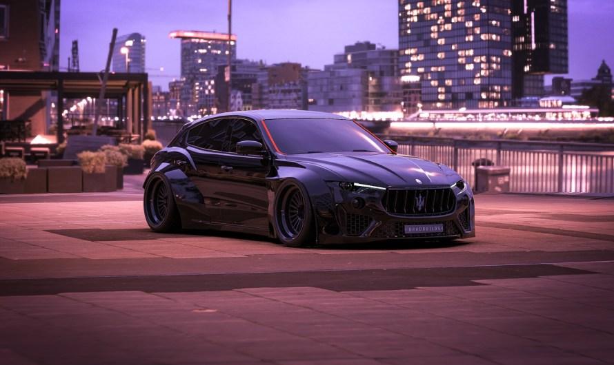 Bradbuilds Maserati Levante – Un grande ressemblance a la Subaru