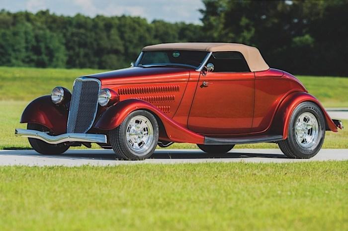 Brizio Ford Roadster 1933 – Le look élégant des Ford d'avant-guerre