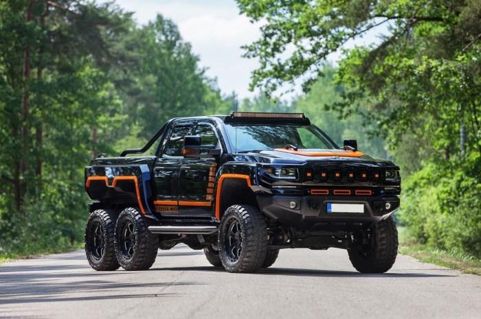 Bureko 6×6 Pickup 2020 – Un Chevy Silverado 6×6 avec 1200 HP