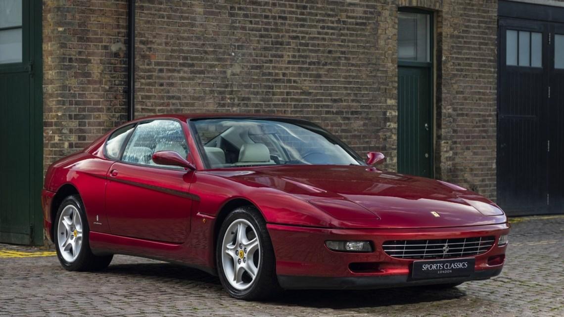 Ferrari 456 GT 1994 Conduite à gauche doté d'un tout nouveau V-12