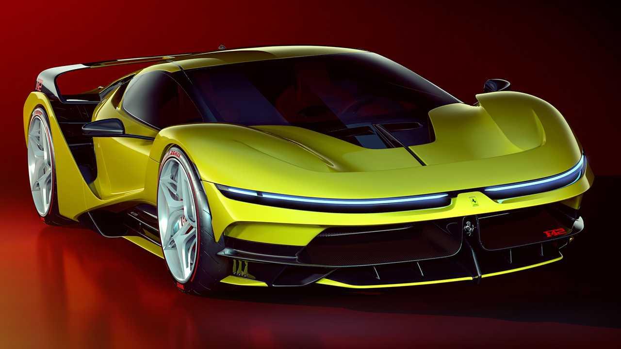 Ferrari F42 Concept 2020 - Une version moderne de l ...
