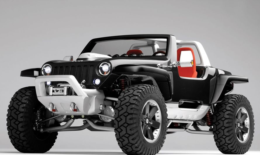 Jeep Hurricane Concept 2005 – Un design léger avec une haute résistance