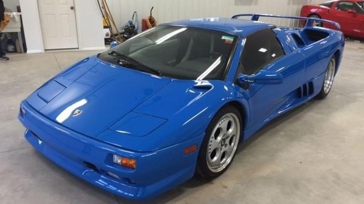 Lamborghini Diablo VT Roadster 1997 qui a appartenu a Donald Trump