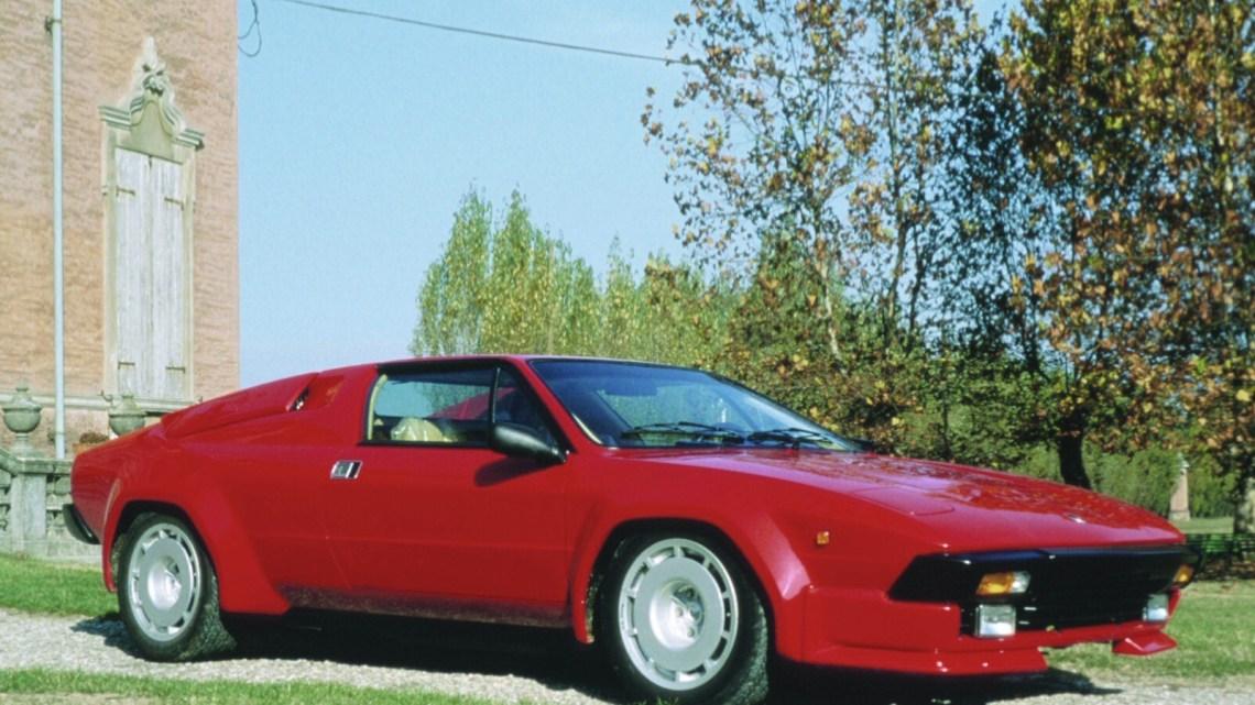 Lamborghini Jalpa P350 1984 – La remplaçante de la Silhouette
