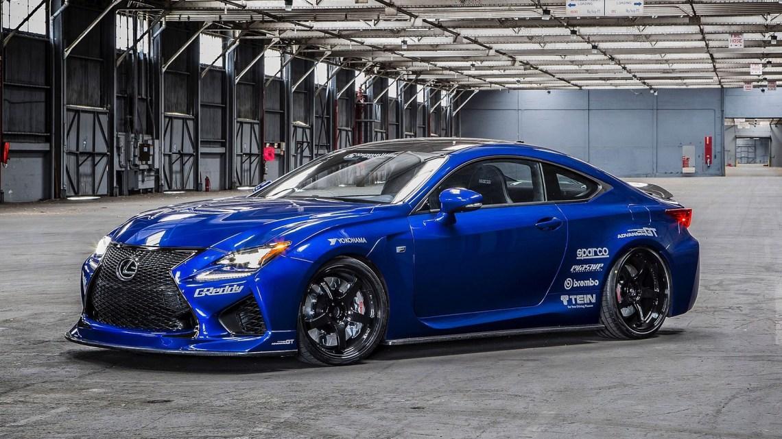 Lexus RC F Gordon Ting 2014 – Version optimisée pour la performance