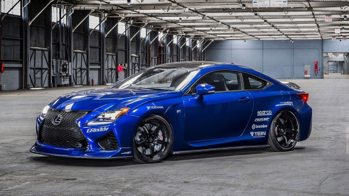 Lexus RC F Gordon Ting 2014 – Version optimisée pour la performance