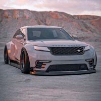 Range Rover Velar BradBuilds - Un châssis bas et un énorme corps large