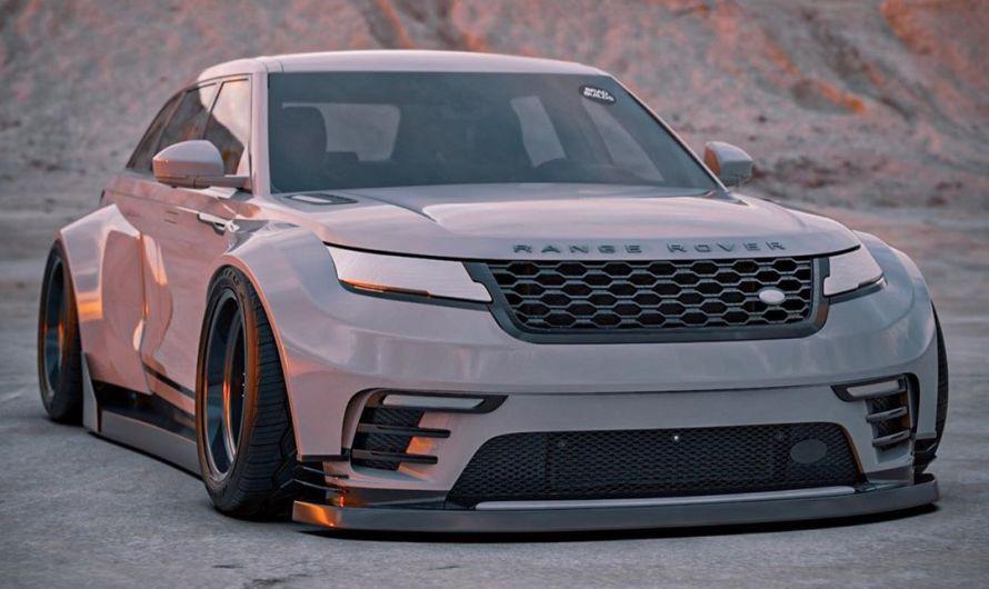 Range Rover Velar BradBuilds – Un châssis bas et un énorme corps large