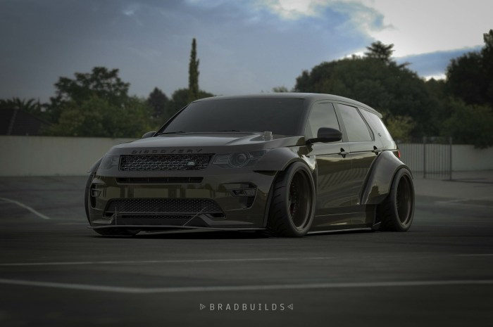 BradBuilds – Land Rover Discovery – Il a un look plus moderne