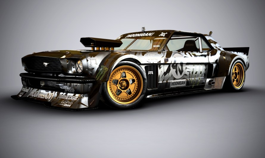 Ford Mustang Hoonicorn Ken Block – La Mustang néo-rétro de l'extrême