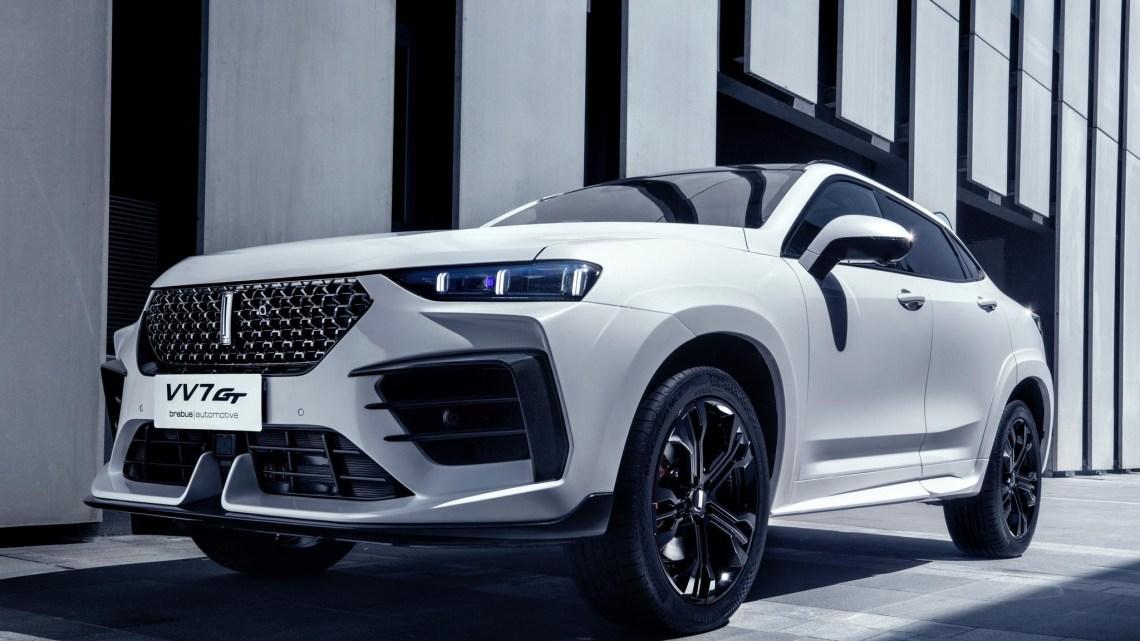 Wey VV7 GT Brabus 2020 – Il s'agit d'une copie du DS7 Crossback