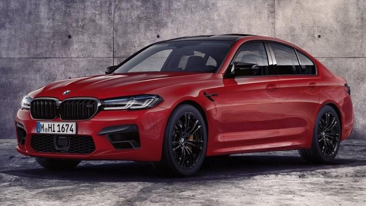 BMW M5 Competition 2021 propulsés par un V8 de 4,4 litres