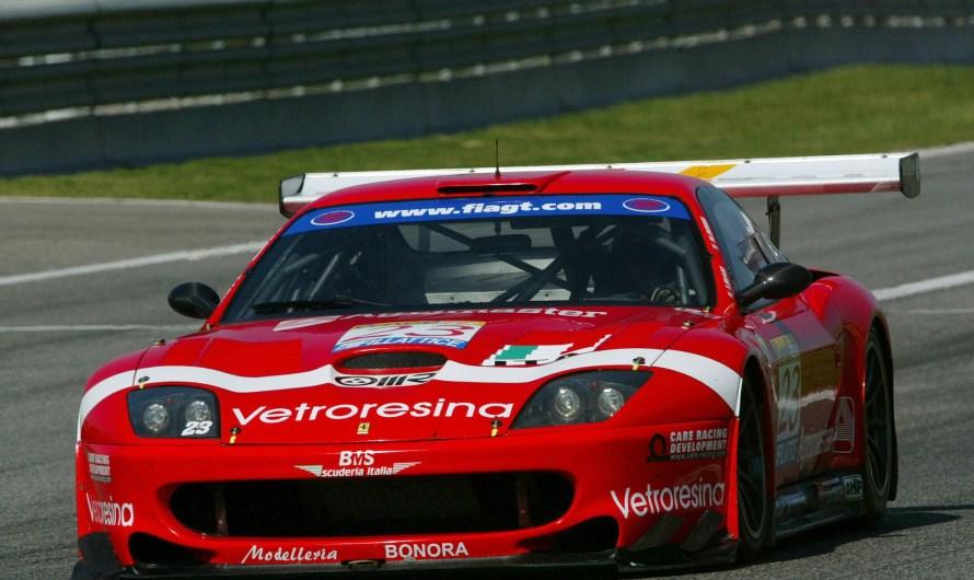 Ferrari 550 Maranello – Les lignes de la carrosserie, créée par Pininfarina