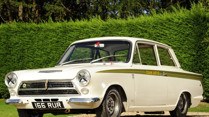 Ford Lotus Cortina – Voiture sportive construite par Lotus Cars