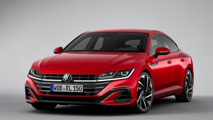 Volkswagen Arteon 2021 – Elle obtient un style révisé avant et arrière