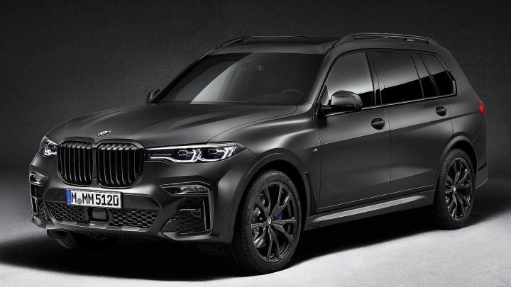 BMW X7 Dark Shadow Edition 2021 – Basé sur le SUV de luxe X7