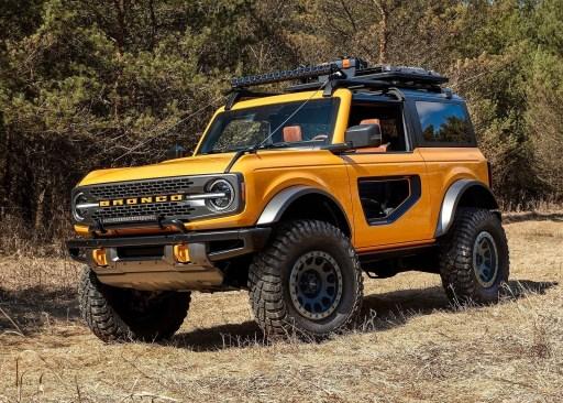 Ford Bronco 2 door 2021