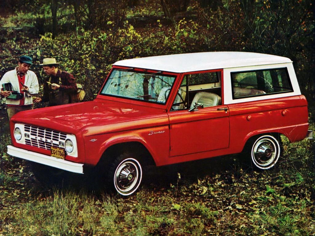 Ford Bronco Wagon U15 1967