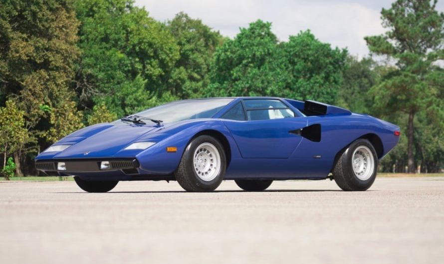 Lamborghini Countach Periscopica LP400 1976 incroyablement rare