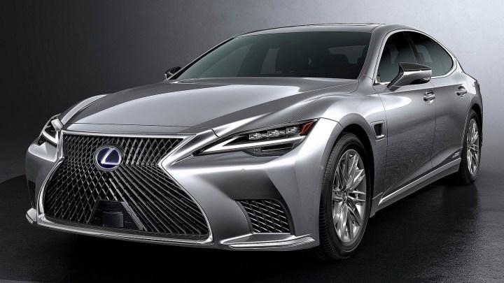 Lexus LS 2021 recevra des mises à jour de style et d'infodivertissement