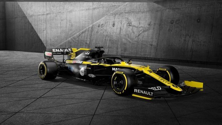 Renault RS20 2020 – Le nez est le point culminant de la nouvelle formule 1