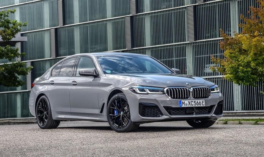BMW 545e xDrive Sedan 2021 – Hybride rechargeable basé sur la Série 5