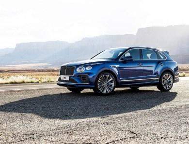 Bentley Bentayga Speed 2021 – Nouveau design et technologie améliorée
