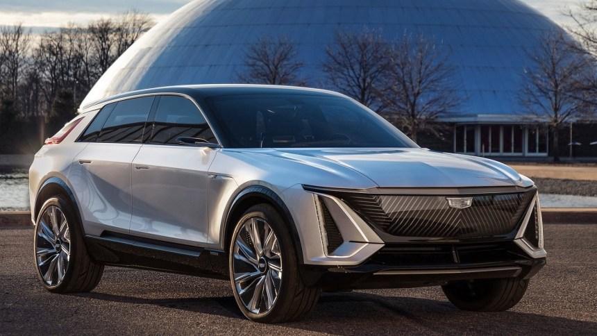 Cadillac Lyriq Concept 2020