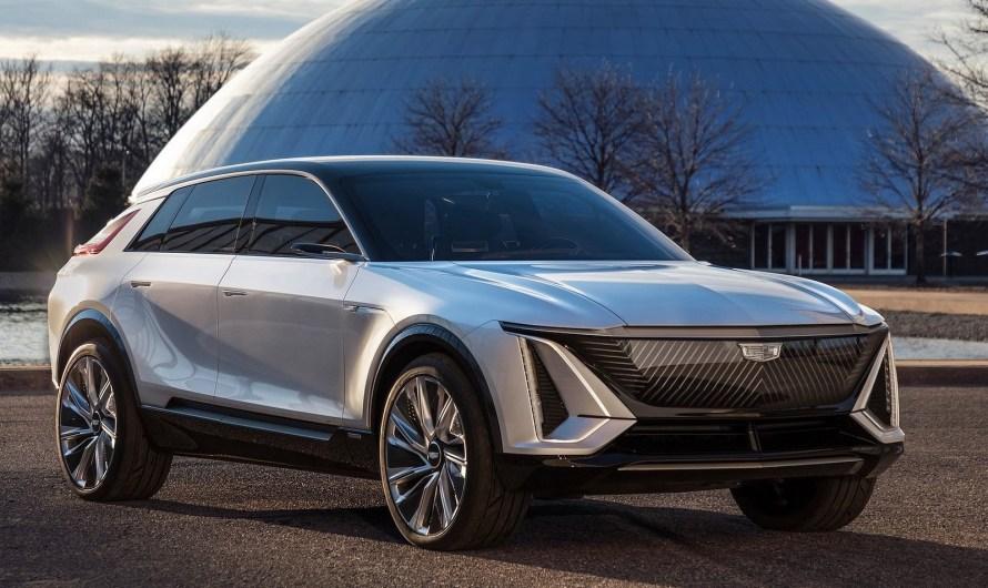Cadillac Lyriq Concept 2020 – Le premier véhicules électriques de luxe chez Cadillac