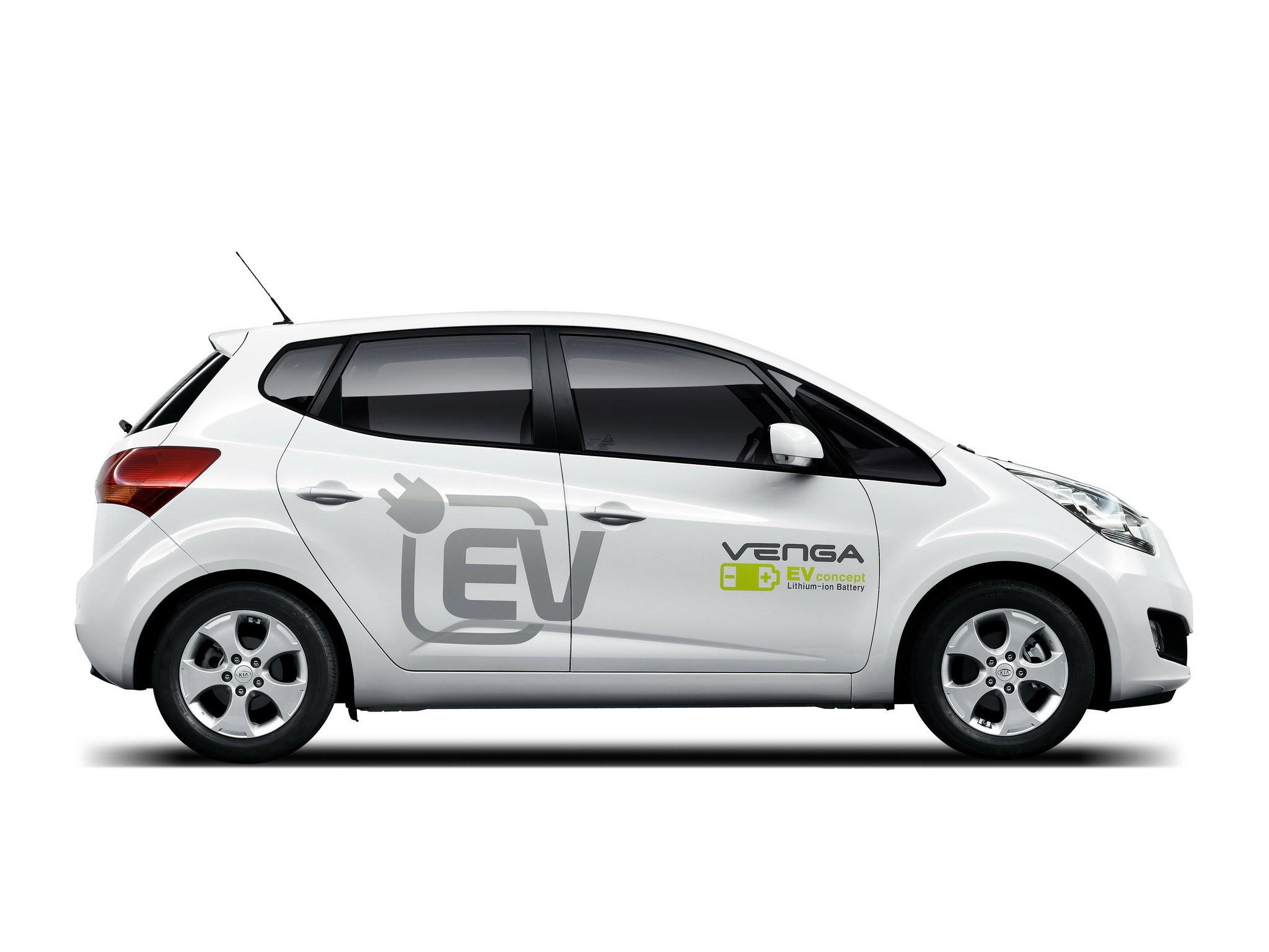 Kia Venga Plug-In Electric Concept 2010
