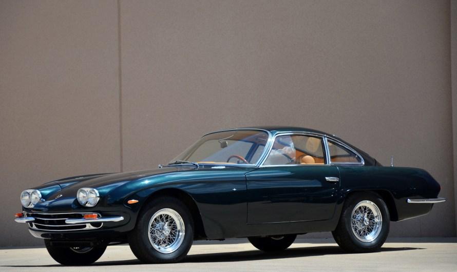 Lamborghini 400GT 2+2 1966 – La carrosserie désormais fabriquée en acier
