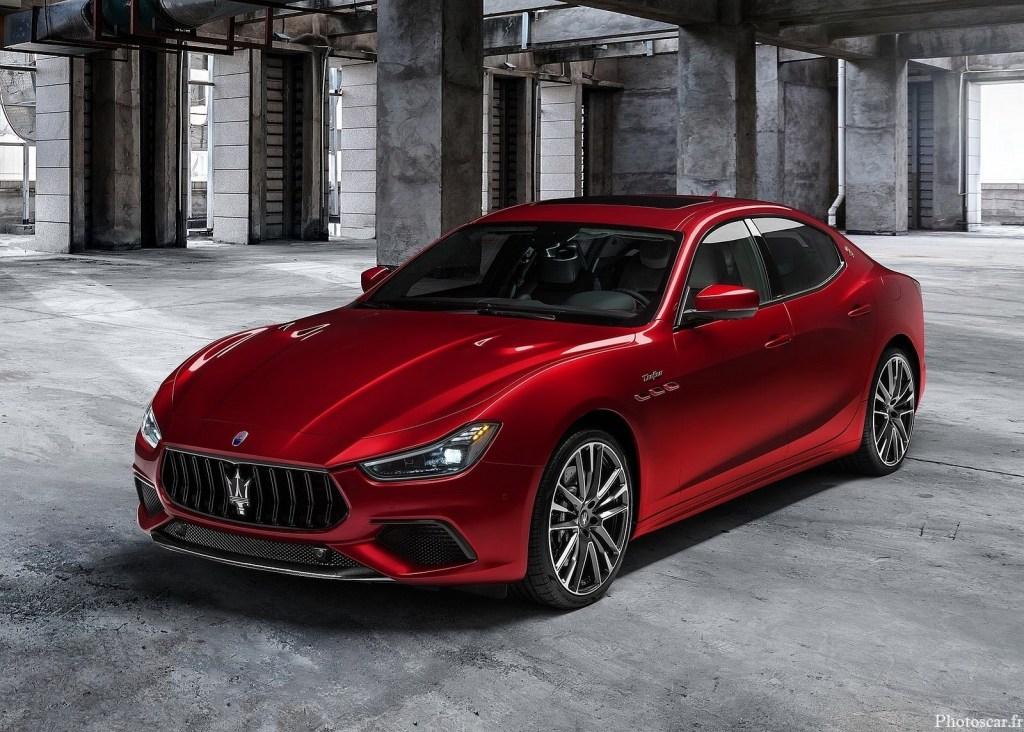 Maserati Ghibli Trofeo 2021 – Berlines de luxe de taille moyenne